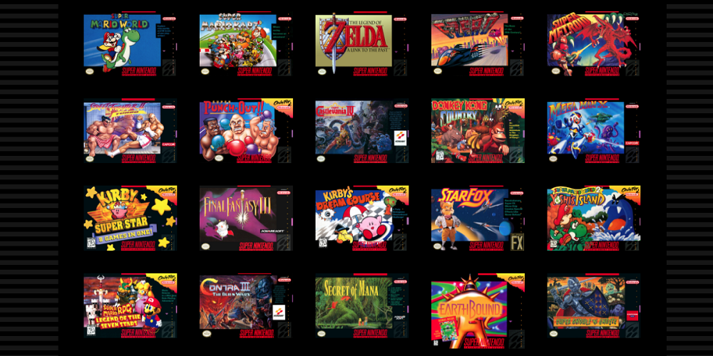 Ranking All 21 Games of the SNES Classic Edition[Pixelkin]