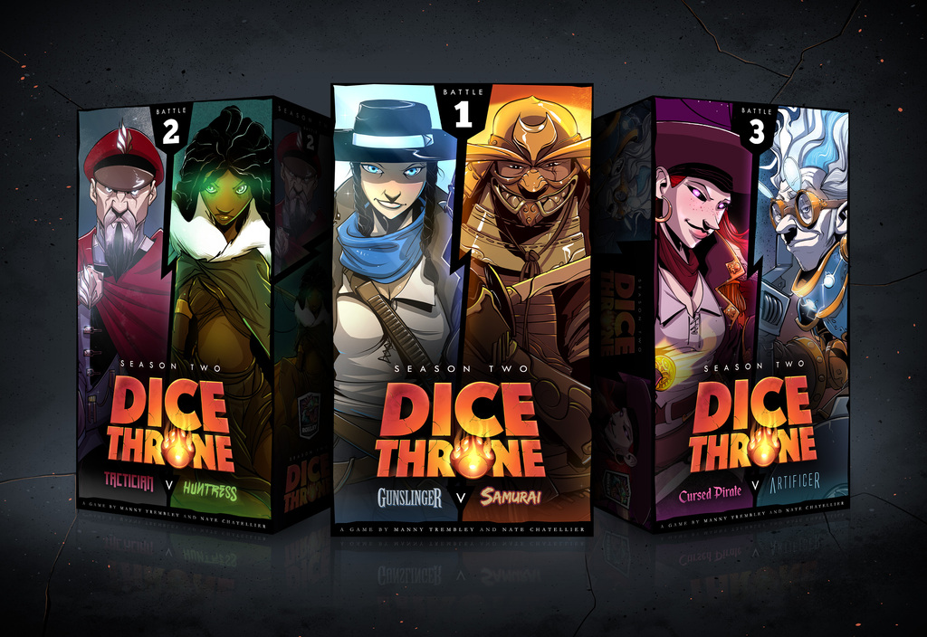 Roxley Teases New Dice Throne Season 2 Heroes