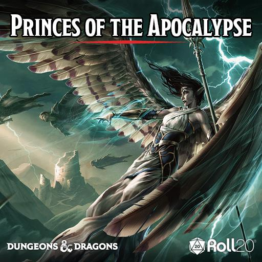 Roll20 Review: Princes of the Apocalypse