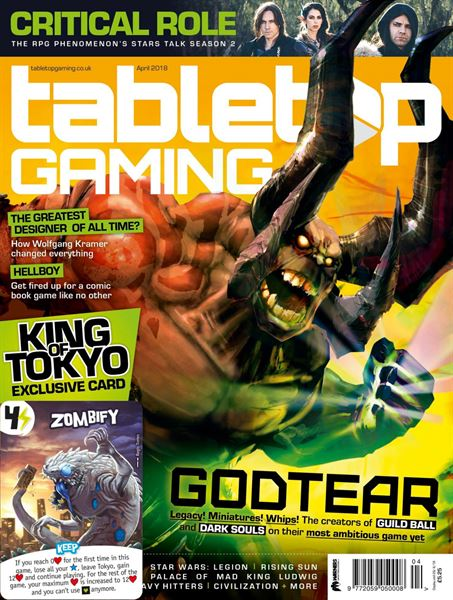 Read My First Article for Tabletop Gaming Magazine in the April Issue, Out Now!