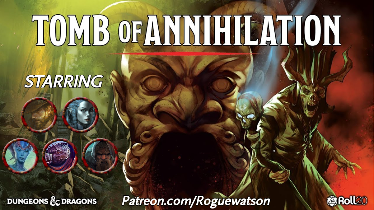 Tomb of Annihilation Session 0 Recap