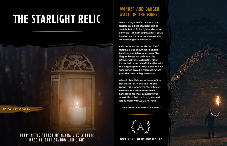 DMs Guild Review – The Starlight Relic