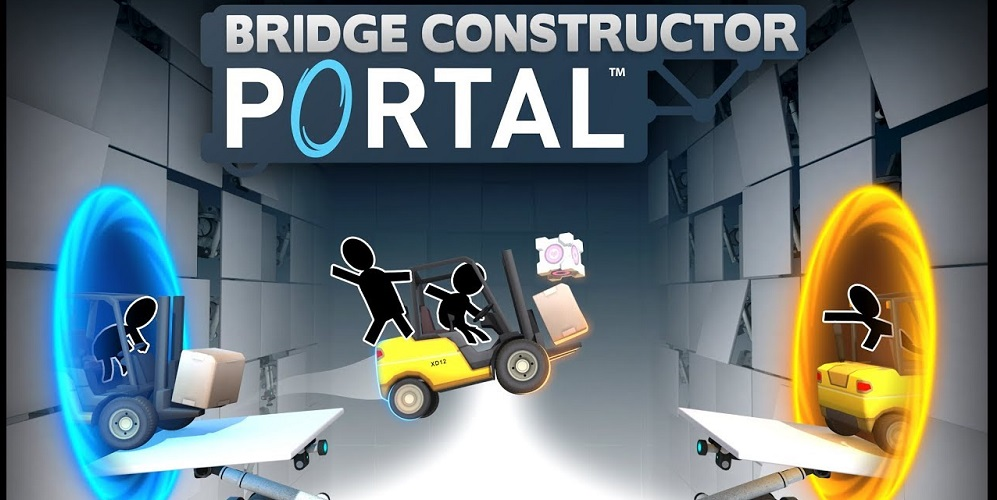 Bridge Constructor Portal Review [Pixelkin]