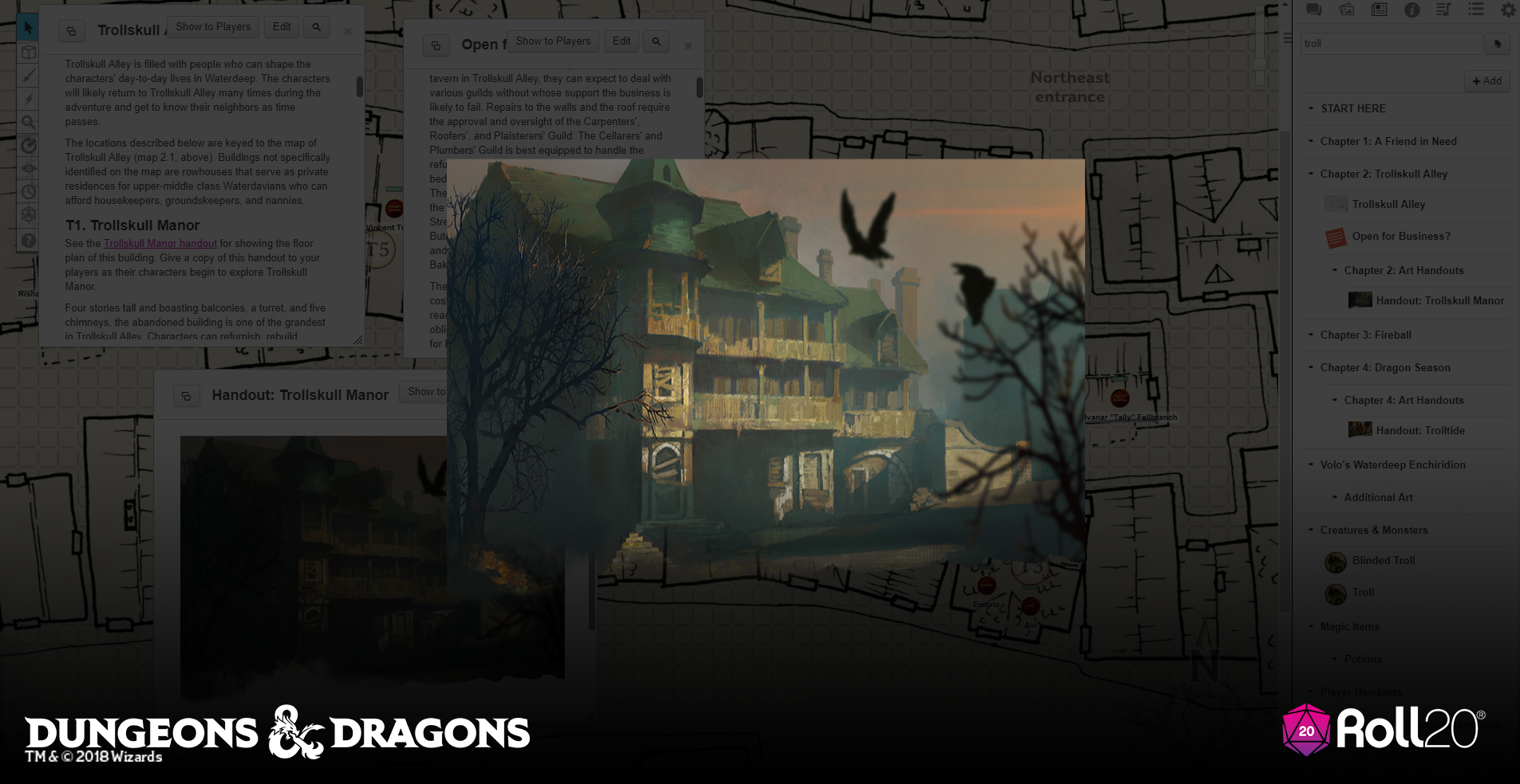 Roll20 Review – Waterdeep: Dragon Heist – Eric Watson