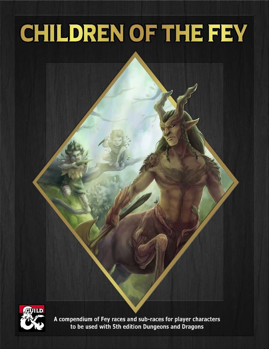 DMs Guild Review – Children of the Fey