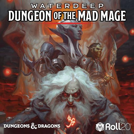 Roll20 Review – Waterdeep: Dungeon of the Mad Mage