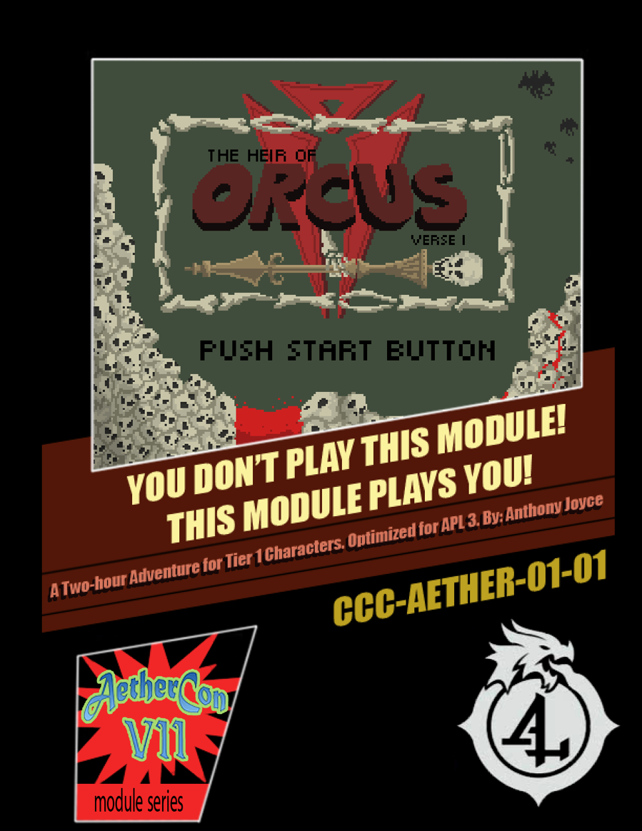 DMs Guild Review – The Heir of Orcus: Verse I