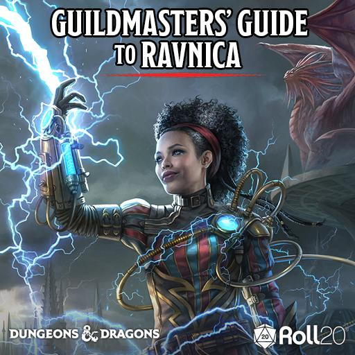 Roll20 Review- Guildmasters' Guide to Ravnica