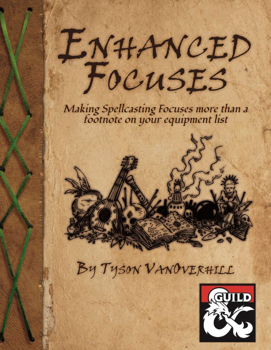 DMs Guild Review – Enhanced Focuses