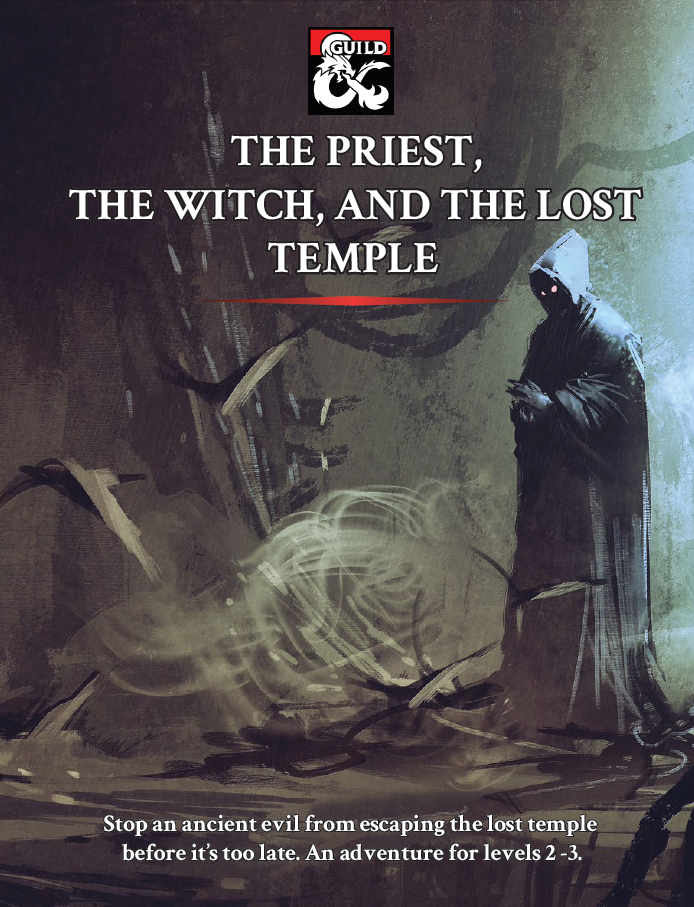 DMs Guild Review – The Priest, The Witch, and the Lost Temple