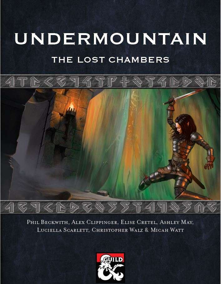 DMs Guild Review – Undermountain: The Lost Chambers
