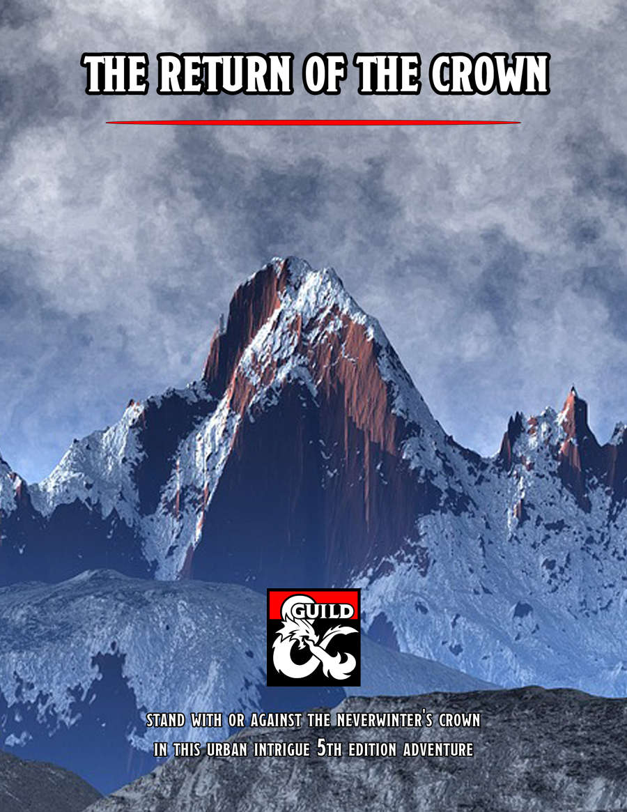 DMs Guild Review – The Return of theCrown