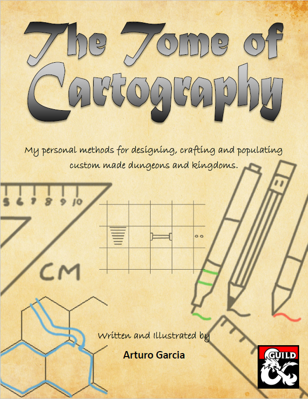 DMs Guild Review – The Tome of Cartography