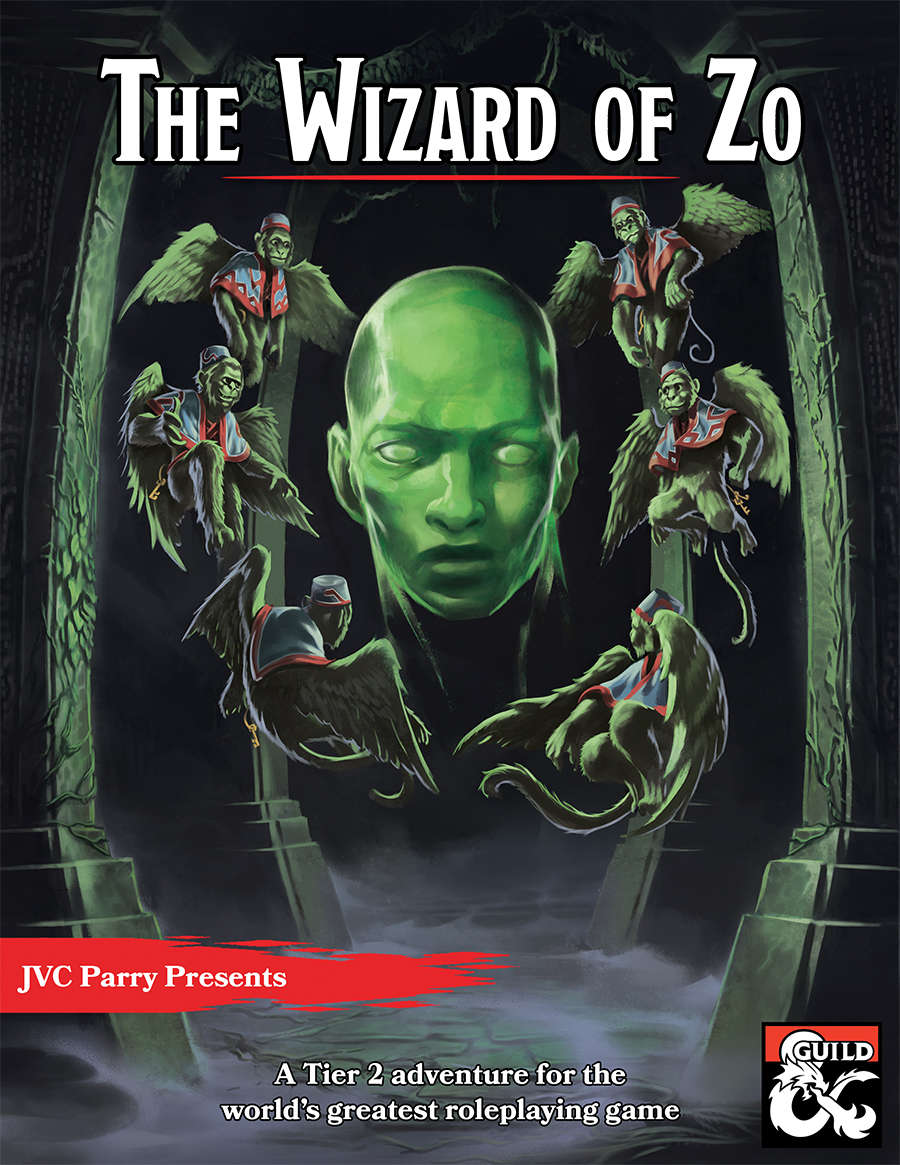 DMs Guild Review – The Wizard of Zo