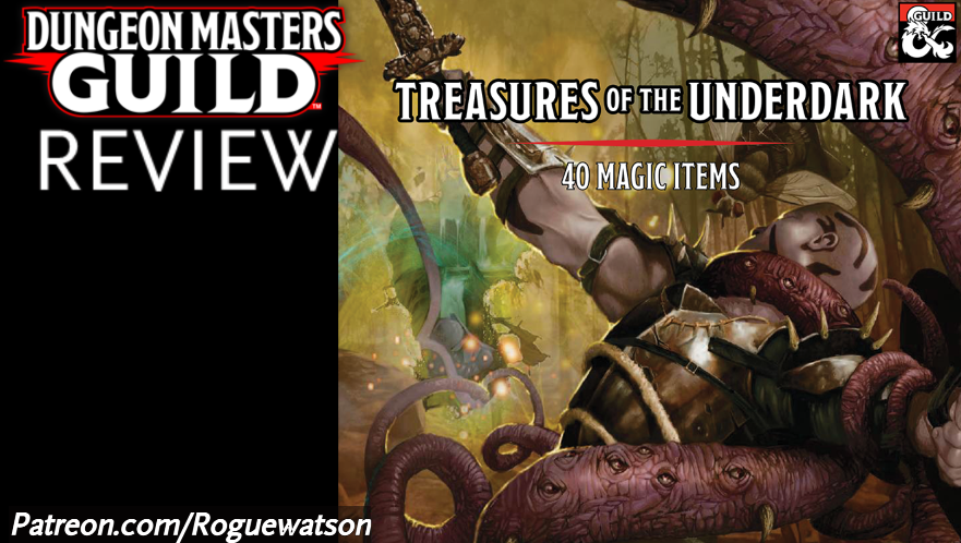 DMs Guild Review – Treasures of the Underdark