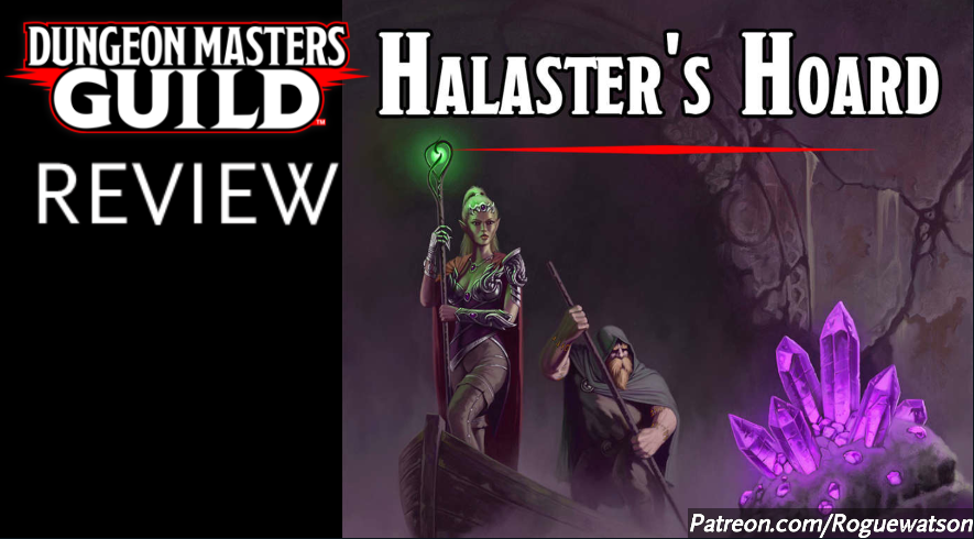 DMs Guild Review – Halaster's Hoard
