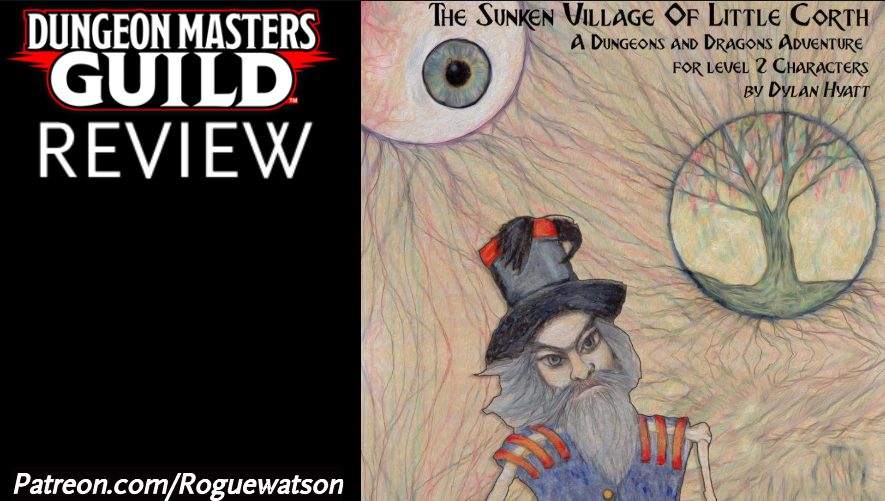 DMs Guild Review – The Sunken Village of Little Corth