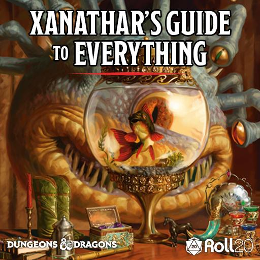 Roll20 Review – Xanathar's Guide to Everything + Underworld Speculation