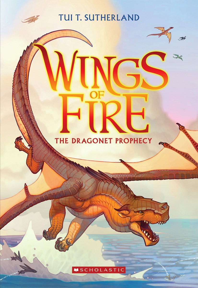 Goodreads Review – The Dragonet Prophecy (Wings of Fire #1)