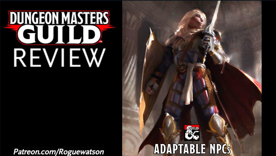 DMs Guild Review – AdaptableNPCs