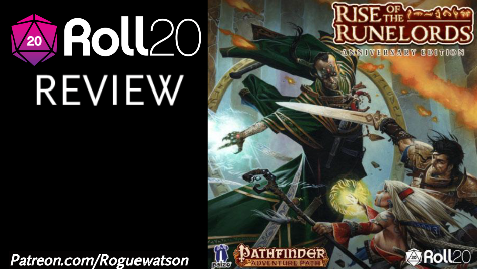 Roll20 Review – Rise of the Runelords