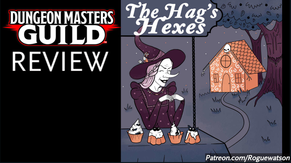 DMs Guild Review – The Hag's Hexes