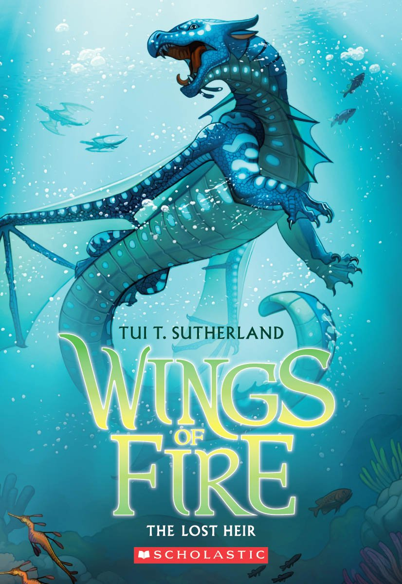 Goodreads Review – The Lost Heir (Wings of Fire#2)