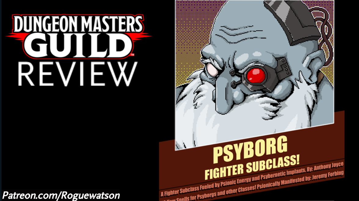 DMs Guild Review – Psyborg: Fighter Subclass