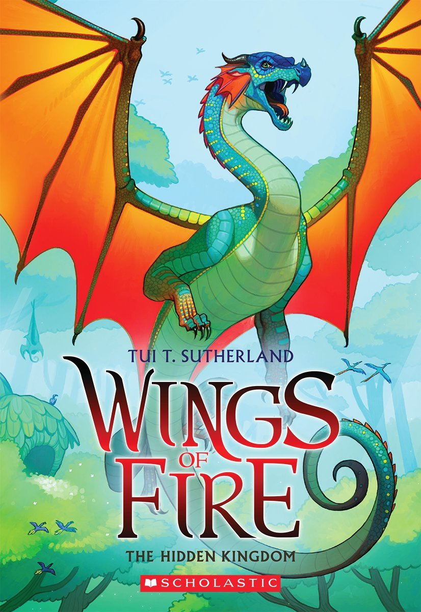 Goodreads Review – The Hidden Kingdom (Wings of Fire, #3)