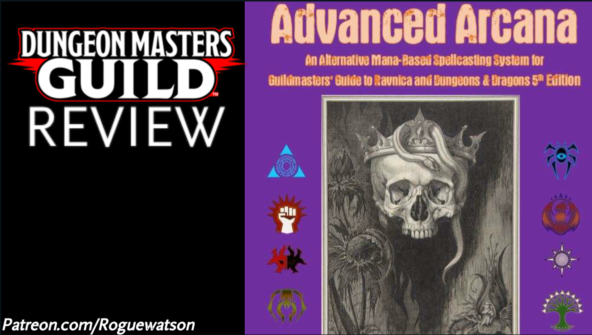 DMs Guild Review – Advanced Arcana