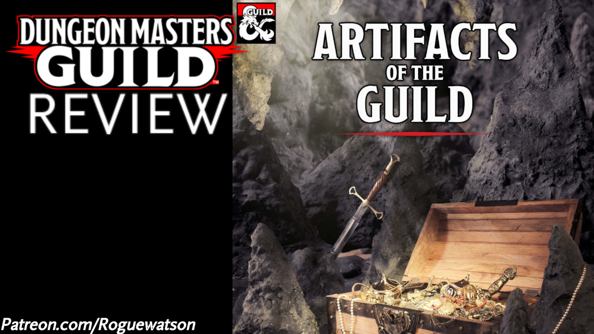 DMs Guild Review – Artifacts of the Guild