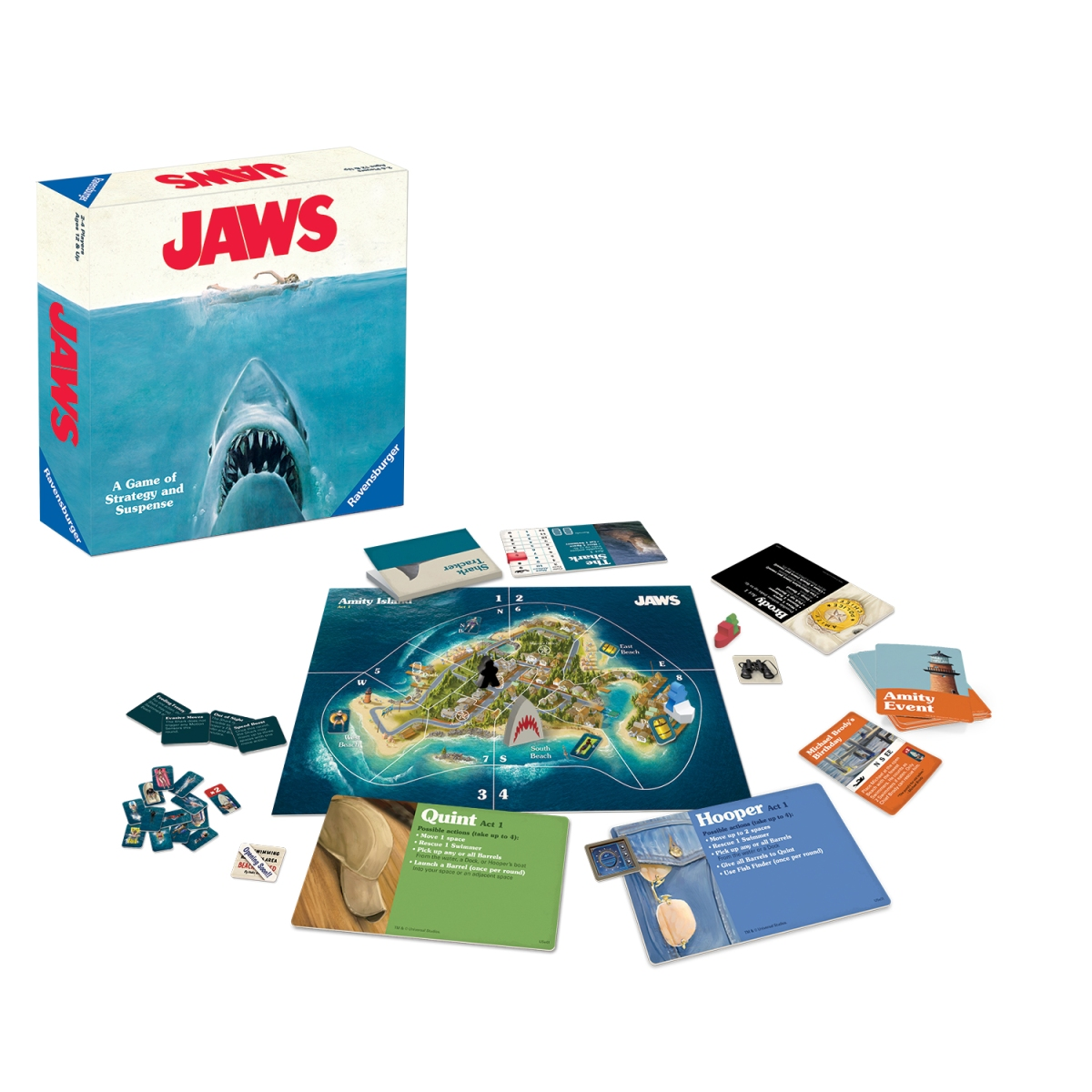 Jaws Board Game Review [Pixelkin]