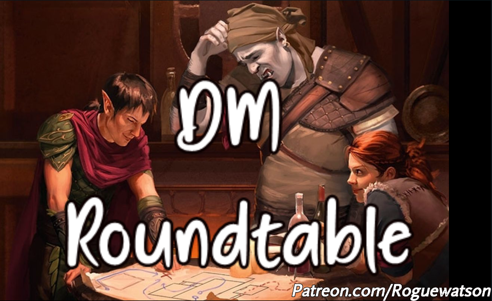 DM Roundtable September 2019: Homebrew Vs. Published Content