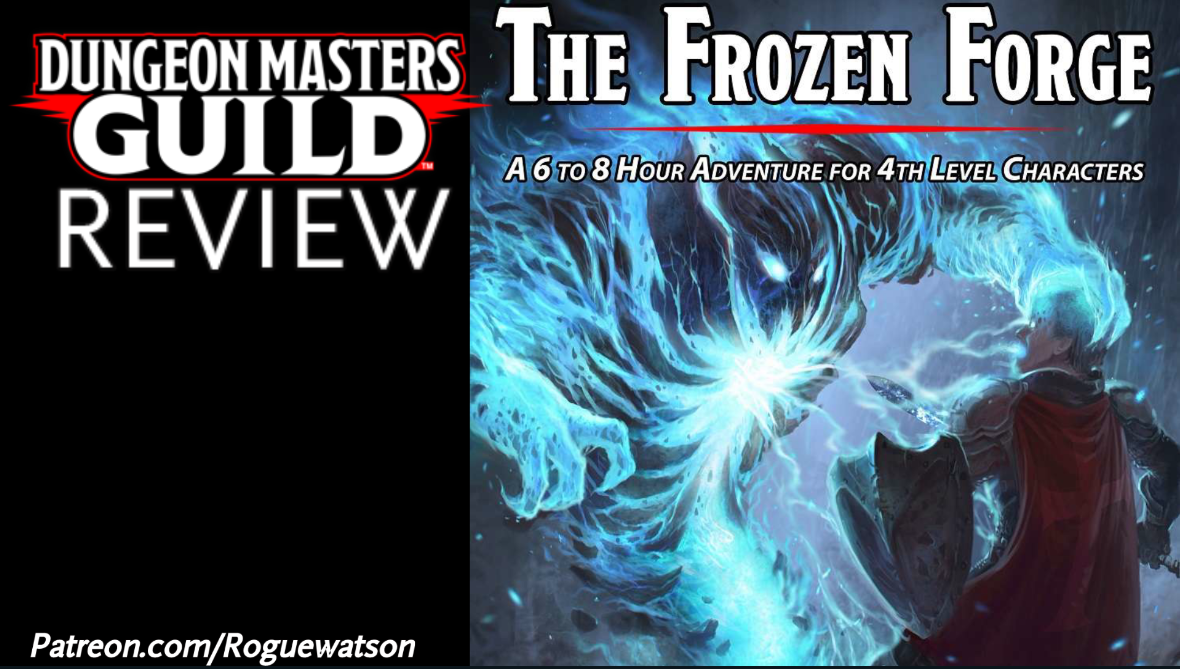 DMs Guild Review – The Frozen Forge