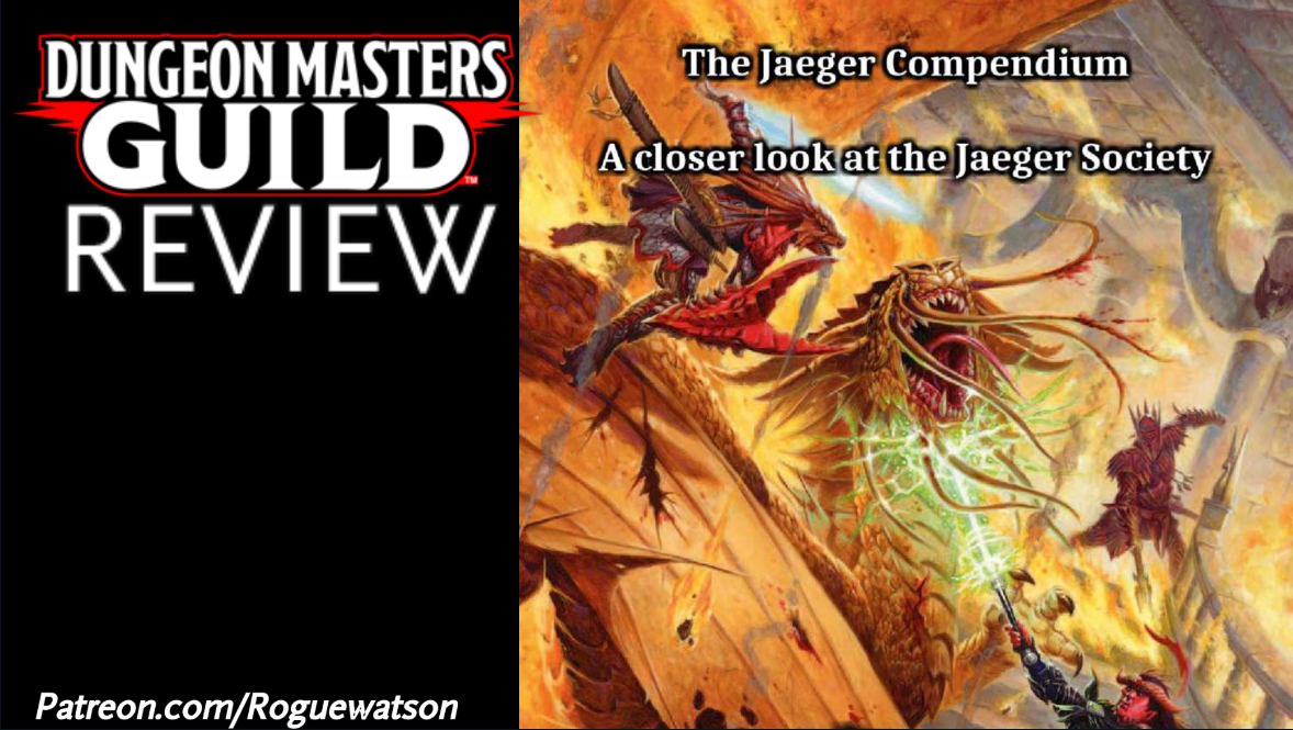 DMs Guild Review – The Jaeger Compendium