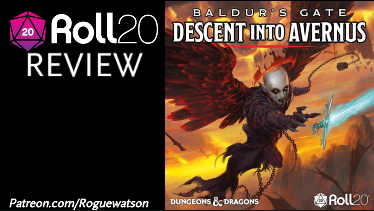 Roll20 Review – Baldur's Gate: Descent Into Avernus