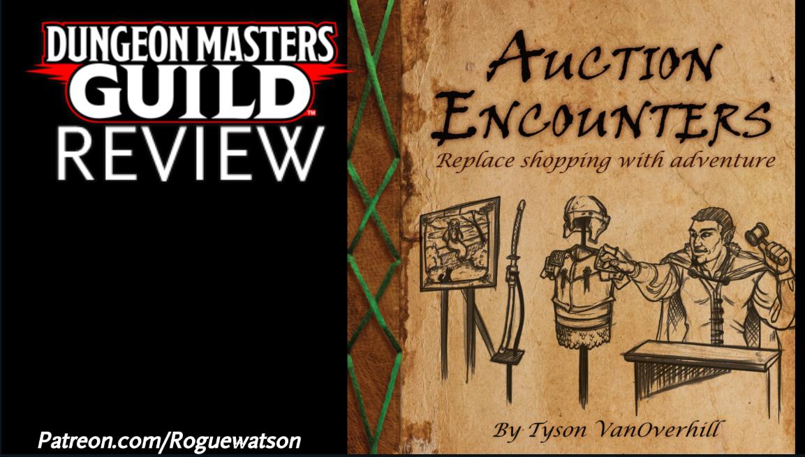 DMs Guild Review – AuctionEncounters