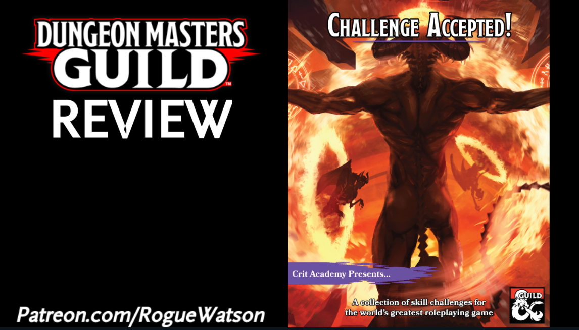 DMs Guild Review – Challenge Accepted!