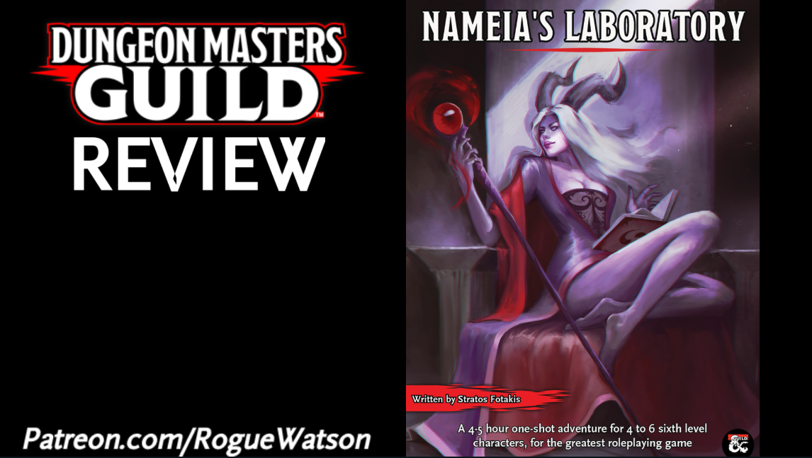 DMs Guild Review – Nameia's Laboratory