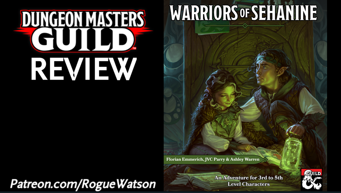 DMs Guild Review – Warriors of Sehanine