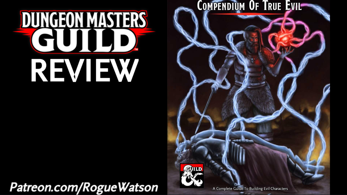 DMs Guild Review – Compendium of True Evil