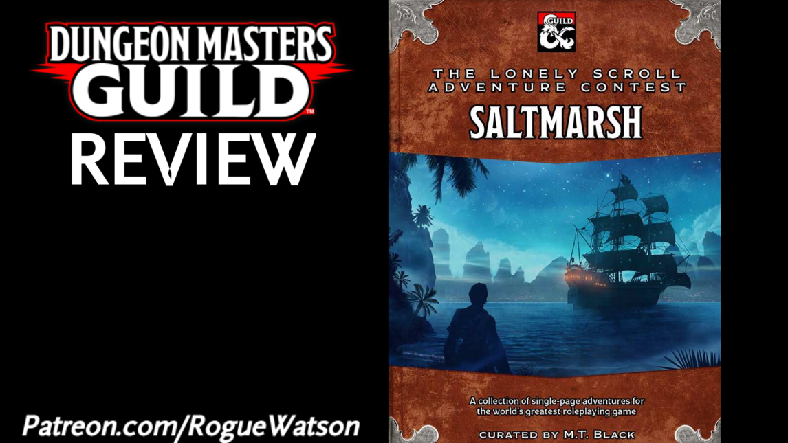 DMs Guild Review – The Lonely Scroll Adventure Contest: Saltmarsh