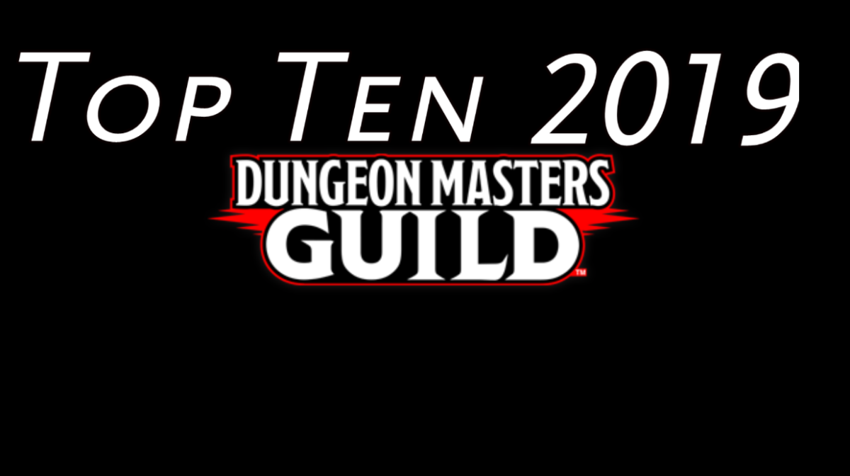 Top Ten DMs Guild Products I Reviewed in 2019