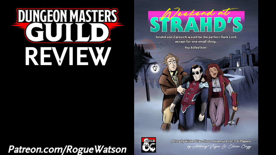 DMs Guild Review – Weekend at Strahd's
