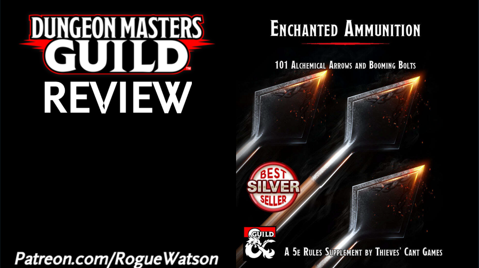 DMs Guild Review – Enchanted Ammunition