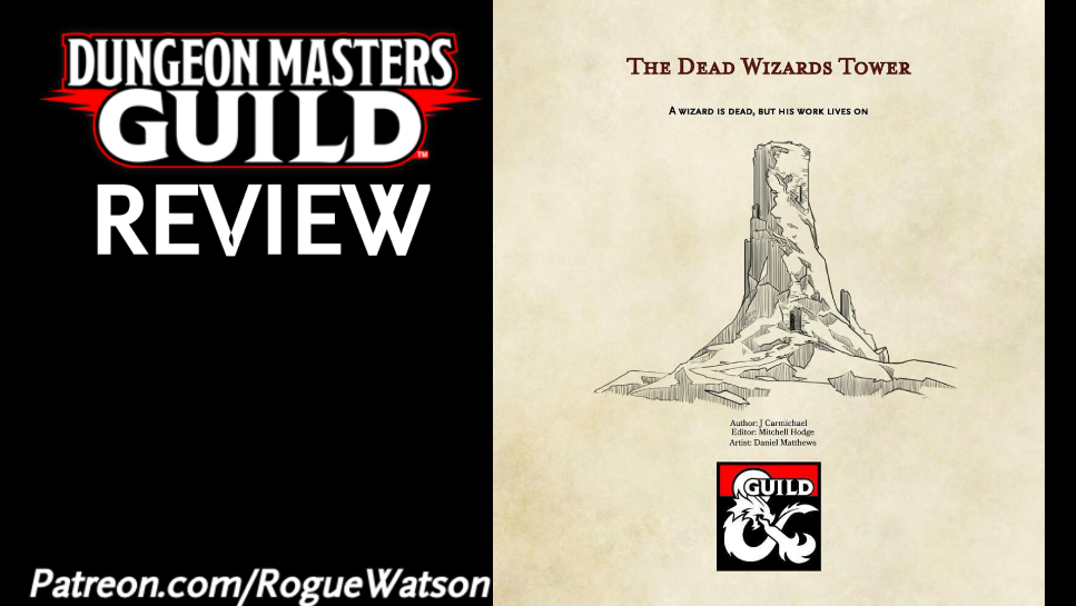 DMs Guild Review – The Dead Wizard's Tower