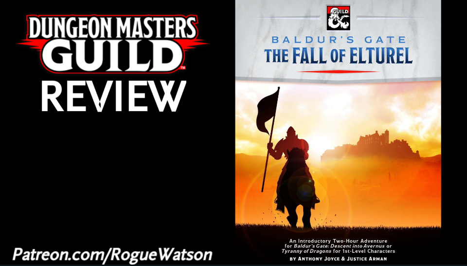 DMs Guild Review – Baldur's Gate: The Fall of Elturel