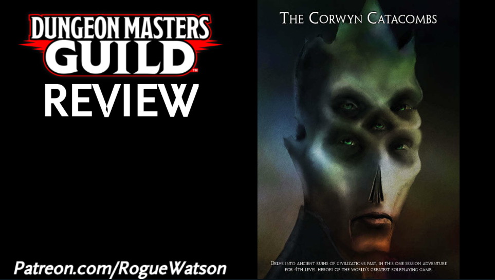 DMs Guild Review – The CorwynCatacombs