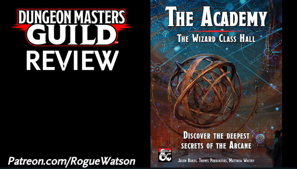 DMs Guild Review – The Academy: The Wizard Class Hall