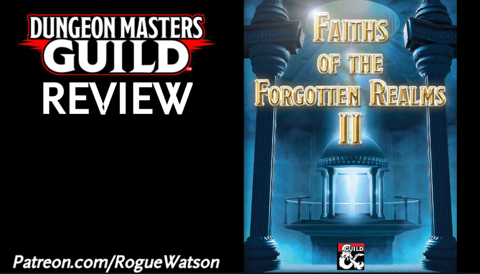 DMs Guild Review – Faiths of the Forgotten Realms 2